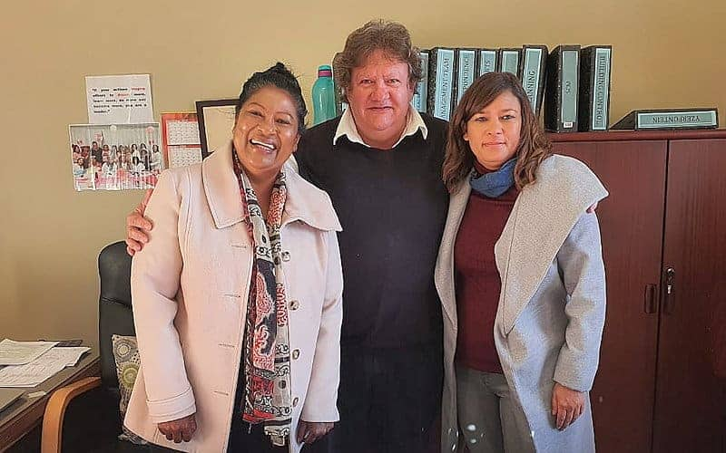 Swartland Municipality COVID 19 Heroes: Jo-Anne Krieger (Director Development Services), Joggie Scholtz (Municipal Manager) and Hillary Balie (Manager Community Development officer)